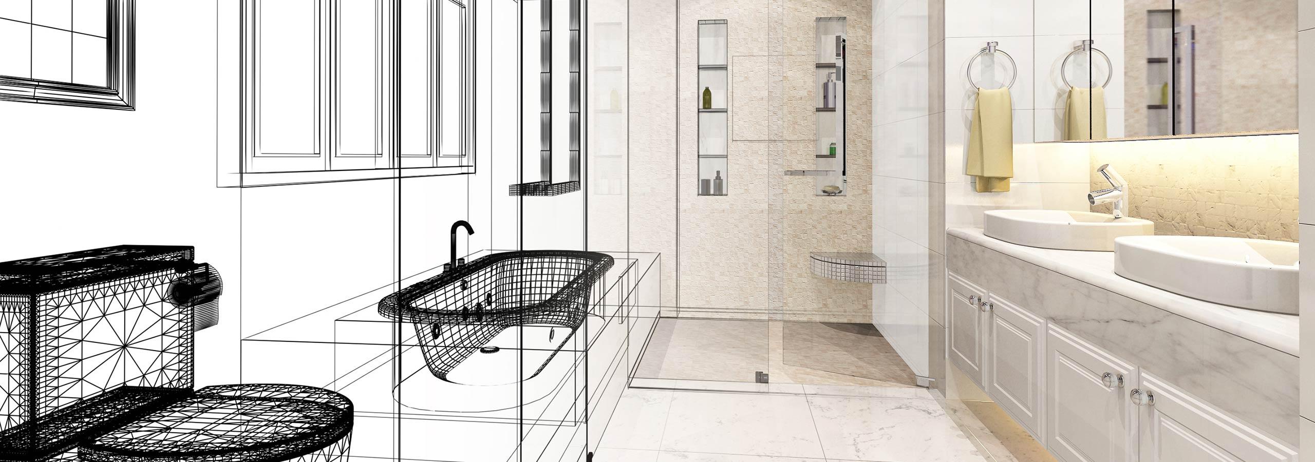 Badkamer verbouwen door de installateur uit Papendrecht